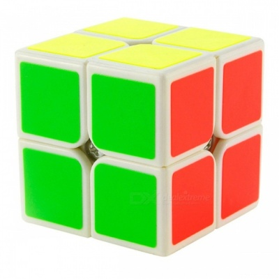 YJ YuPo 50mm 2x2x2 Smooth Speed Magic Cube Puzzle Toy for Kids, Adults - White