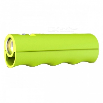ZHAOYAO Multi-Functional Mobile Power Bank with Flashlight, Handle Functions - Green