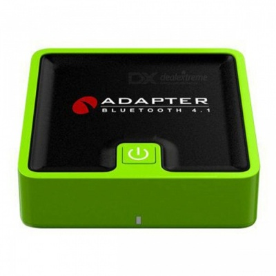 BTI-039 2-in-1 Fiber Coaxial CSR Stereo Bluetooth Transmitter and Receiver Adapter - Green
