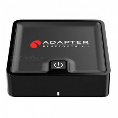 BTI-039 2-in-1 Fiber Coaxial CSR Stereo Bluetooth Transmitter and Receiver Adapter - Black