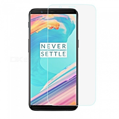 Mini Smile 2.5D 9H Hardness Explosion-Proof Anti-scratch Tempered Glass Screen Protector for OnePlus 5T - Transparent