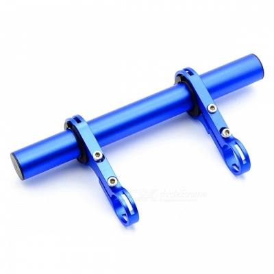 Multi-functional Aluminium Alloy Extended Bracket for Bicycle - Blue