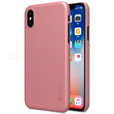 NILLKIN PC Hard Plastic Cover Case for IPHONE X - Rose Gold
