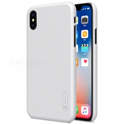 NILLKIN PC Hard Plastic Cover Case for IPHONE X - White