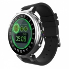 "MF30 Android 5.1 3G 1.3"" Smart Watch with 2GB RAM + 16GB ROM, 5.0MP Camera - Silver"
