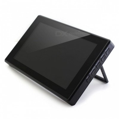 """Waveshare 7"""" 1024x600 HDMI LCD with Toughened Glass Cover, Supports Multi mini-PCs, Multi Systems"""