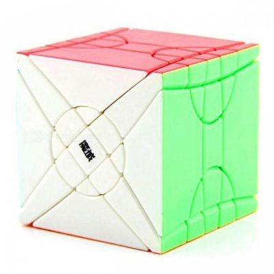 MoYu Fisher Time Wheel 64mm Smooth Speed Magic Cube Finger Puzzle Toy - Color