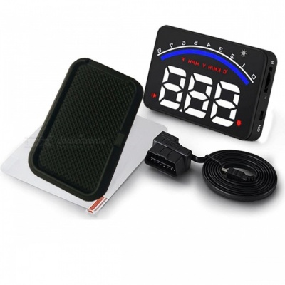 "M6 3.5"" Car HUD Head Up Display Breezes Speed Warning Projector"