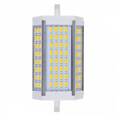 ZHAOYAO R7S 30W 85-265V 5730SMD-64LEDs LED Light with Cooling Fan - Warm White