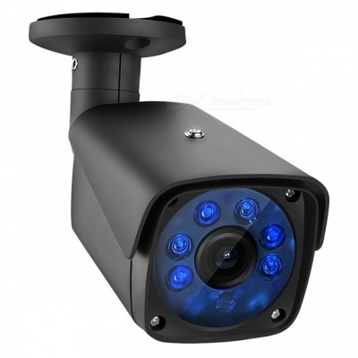 "COTIER 1500TVL 1.0MP Bullet Security CCTV Camera with 1/3"" CMOS 3.6mm Lens for DVR Surveillance System - US Plug"