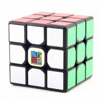 MoYu MF3 3x3x3 Smooth Speed Magic Cube Finger Puzzle Toy 56mm - Black