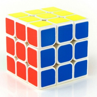 MoYu MF3 3x3x3 Smooth Speed Magic Cube Finger Puzzle Toy 56mm - White