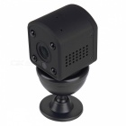 VESKYS 1.0MP 720P HD Mini Wireless IP Camera Built-in Battery Microphone Night Vision Motion Detection - EU Plug