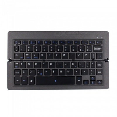 "Portable Foldable Wireless Bluetooth Keyboard for iOS Android, 9.7"" Tablet PC Devices"