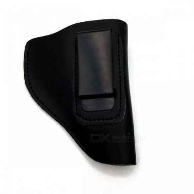 Tactical Leather IWB Gun Holster, Military Pistol Holster for Right Hand, Fits Most J Frame