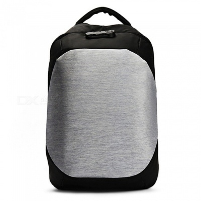 CTSmart 8801 25L Waterproof Anti-Theft Leisure Backpack Shoulder Bag with USB Charging Port - Silver