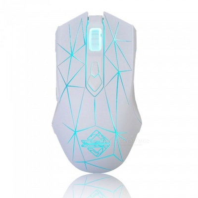 AJAZZ AJ52 Stars Portable USB Wired Gaming Mouse with Colorful Backlit for Notebook Desktop Computer