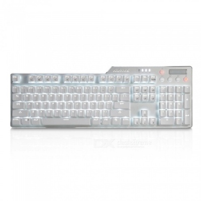 AJAZZ Assassin II Alloy Mechanical Keyboard AK35i 110 Buttons Gaming Keyboard with Backlight - Black Switch