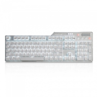 AJAZZ Assassin II Alloy Mechanical Keyboard AK35i 110 Buttons Gaming Keyboard with Backlight - Red Switch