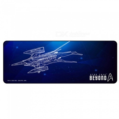 AJAZZ Super Star Trek Custom Edition Cool Mouse Pad Notebook Desk Tablet Pad - Black