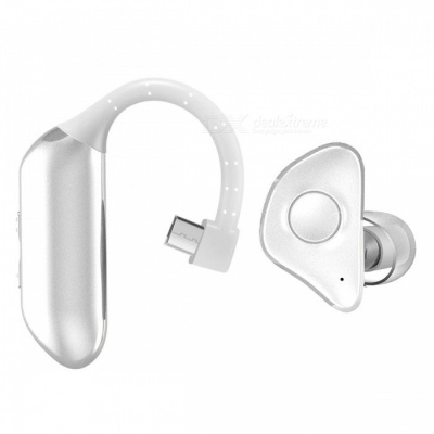 P-TOP Bluetooth V4.1 Business Hands-Free Earphones Wireless Sports Sweatproof Running Earbuds - White