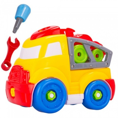 DIY Colorful Assembling Toy Car for Children
