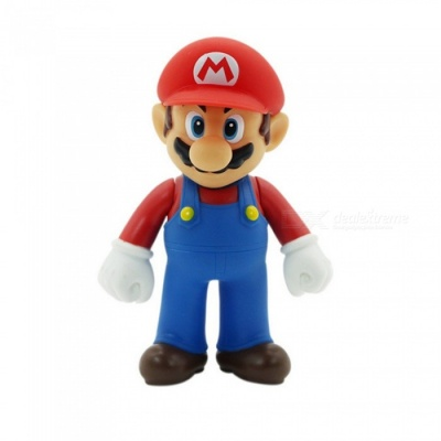 HONEST Super Mario Brother PVC Action Figure Collectible Model Toy 11-12cm - Red