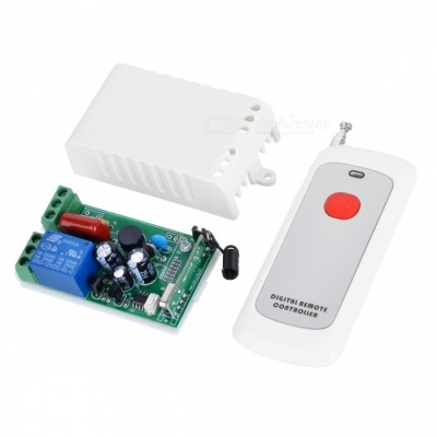 KJ-117-315MHZ-AC220V Single-Way Electric Lock Remote Control Switch Power Switch Light Switch