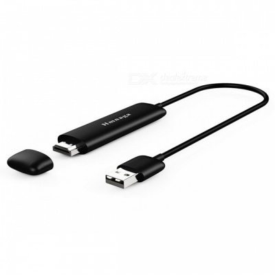 JEDX Wireless Wi-Fi Display Dongle Receiver 1080P HD TV Stick Airplay Media Adapter