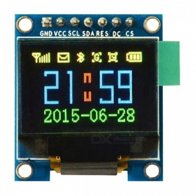 """Produino 0.95"""" Inch SPI OLED Display Module w/ Full Color 65K Color SSD1331 7 Pin for Arduino"""