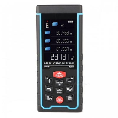RZ-AS100 Portable 100m Laser Distance Meter with LCD Display