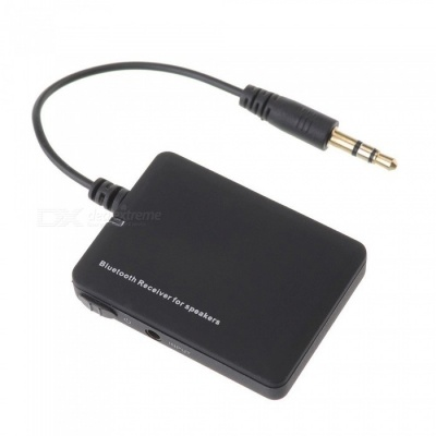 Bluetooth Wireless Audio Music Receiver Adapter for Car AUX 3.5mm Home Speaker