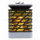 P-TOP 1.2W Flame Style Solar Powered Outdoor LED Lawn Lamp Decorative Landscape Light Courtyard Garden Lamp