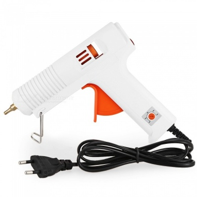 140 Deg.C - 220 Deg.C Adjustable Hot Melt Glue Gun for 11mm Hot Melt Glue Stick - 100V-240V / 100W (EU Plug)