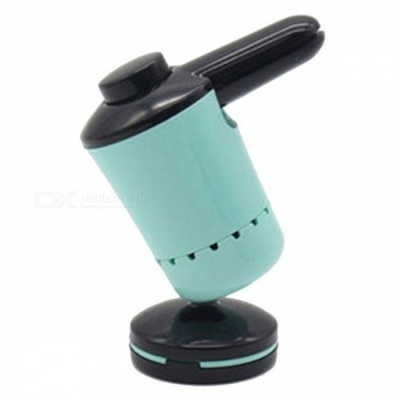 Mini Magnetic Suction Cup Style Car Air Vent Mount Phone Holder Stand Bracket - Blue