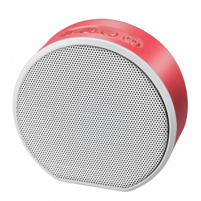 Portable Mini Music Wireless Bluetooth AUX Speaker, Support TF Card, Hands-Free Calls - Red