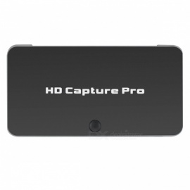 EZCAP 295 1080P HD 1080P HDMI Video Capture Support HDCP / IR / Playback Mode and More - Black