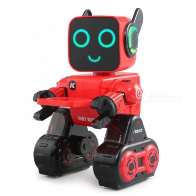 JJRC R4 Cady Wile 2.4G Gesture Sensor Control Sound Interaction Money Management RC Robot - Red