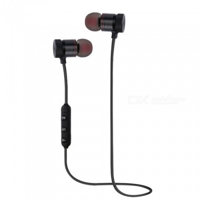 KELIMA XT-6 Sports Bluetooth V4.1 Earphones Metal Magnetic Wireless Headset