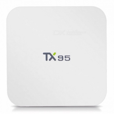 TX95 Android 6.0 S905W Quad-Core 2.4 GHz + 5.0 GHz Wi-Fi 4K Media Player TV Box with 2GB RAM, 16GB ROM (US Plug)