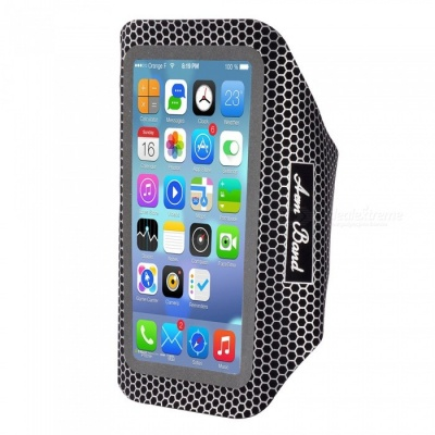 Outdoor Sports Universal Water-Resistant Phone Armband Case for IPHONE 5S / 6 / 6S / 7 / 8 and 4.5~5.2 Inches Phones