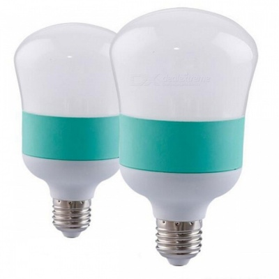 P-TOP High Power Energy Saving E27 5W LED Bulb Gourd Shaped Lamp For Indoor Living Room - 2PCS