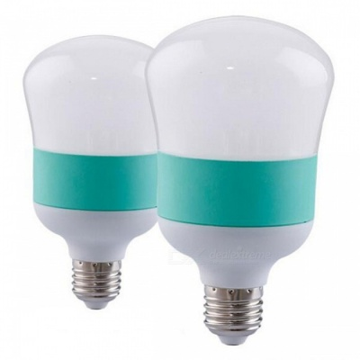 P-TOP High Power Energy Saving E27 10W LED Bulb Gourd Shaped Lamp For Indoor Living Room - 2PCS