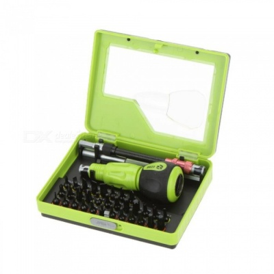 34-in-1 Multi-Purpose Precision Screwdriver Set Cell Phone PC Notebook TV Repair Hand Tool Kit