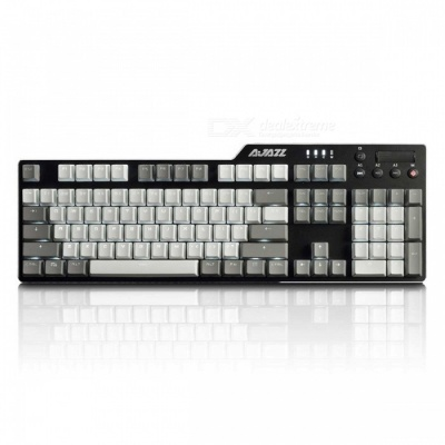 AJAZZ AK35i PBT Version Alloy Gaming Mechanical Keyboard for Home Office - Black Switch