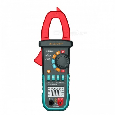 MILESEEY MC631 Digital Clamp Meter Voltage Current Resistance Tester