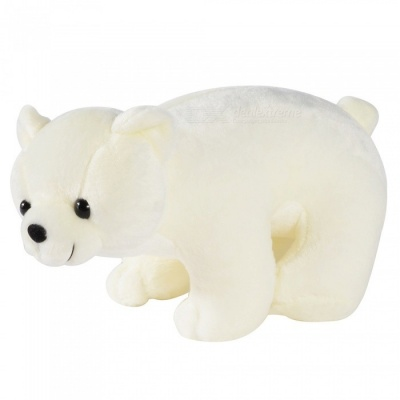 30cm Plush Polar Bear Soft Stuffed Toy, Sweet Cute Lovely Toy for Baby Kids Birthday Gift