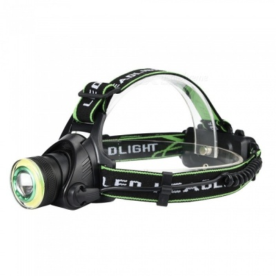 SPO T6 Super Bright Rotating Focus LED Headlamp for Outdoor Fishing Hunting, Etc