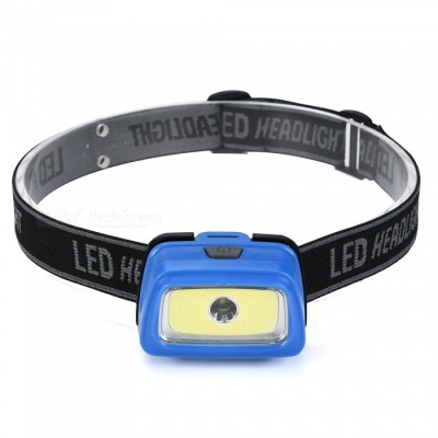 SPO Mini Lightweight Super Bright 3-Mode LED Headlamp for Fishing, Camping, Hunting, Etc
