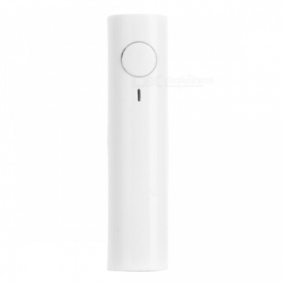 Bluetooth V3.0 Audio Receiver Wireless Adapter 3.5mm Jack AUX Audio Music Car Kit Speaker - White